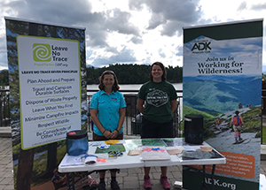 Leave No Trace tabling event