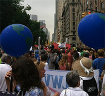 Takin' It to the Streets for Climate Change
