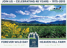 Adirondack Council to Celebrate 40th Anniversary by Honoring its Leaders