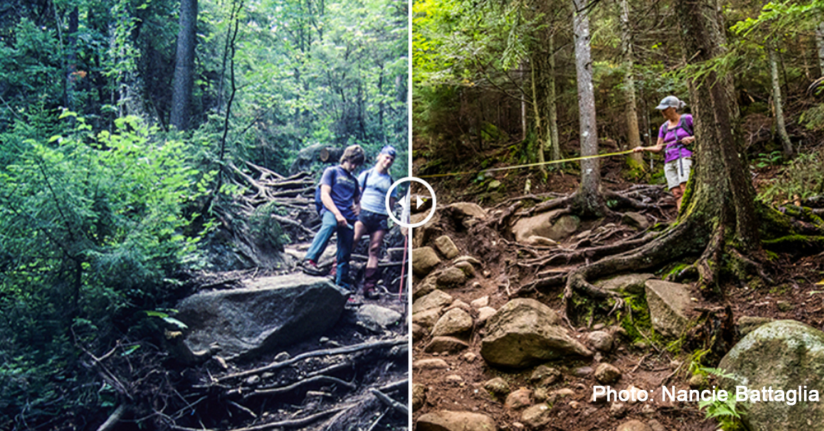 Overuse Degrades Adirondack High Peaks Trails | Redesigning and Rebuilding Trails Can Help Solve Problem