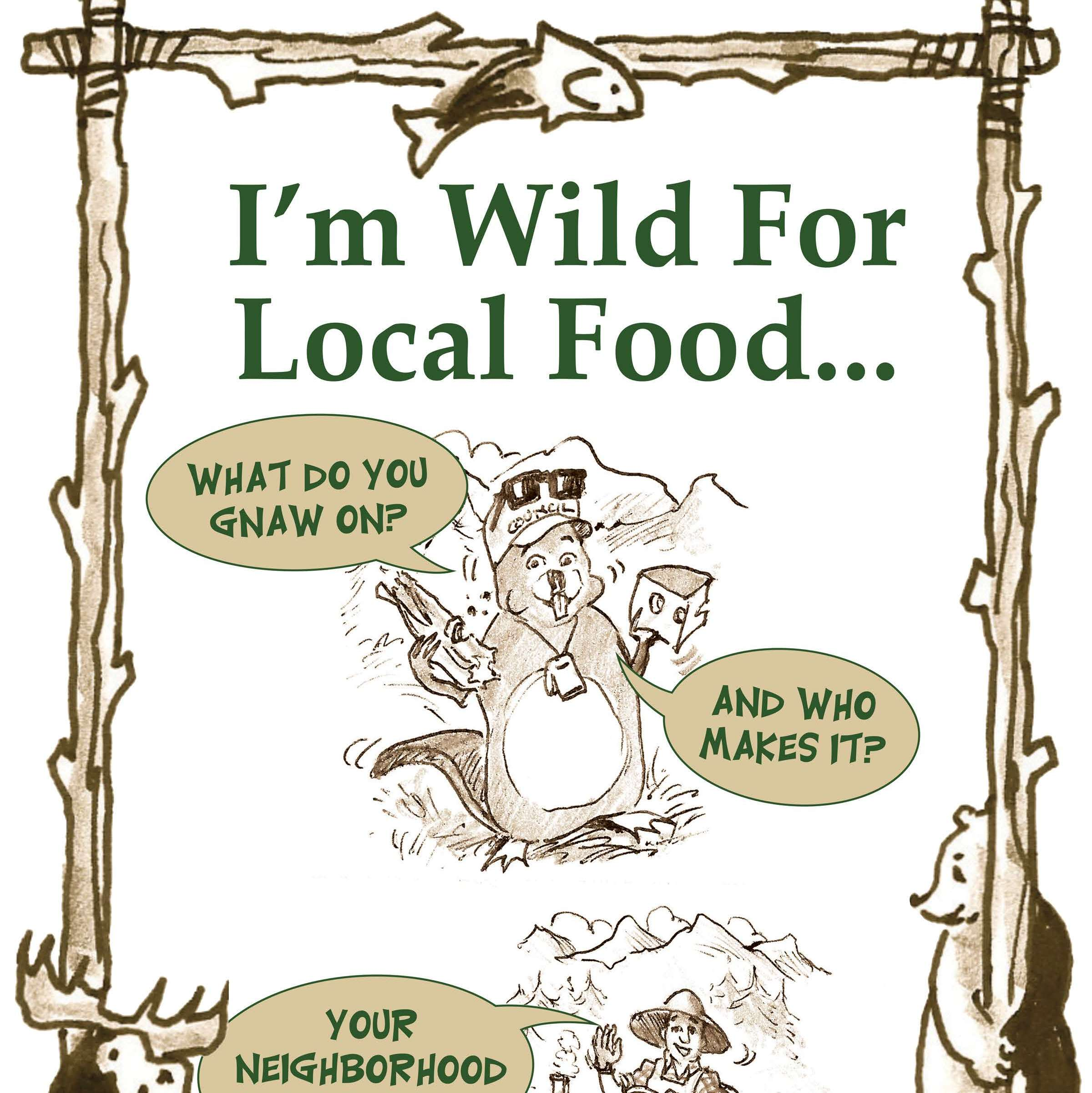 Council Helps Spread the Word - Eat Local!
