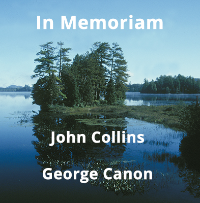 Remembering John Collins and George Canon