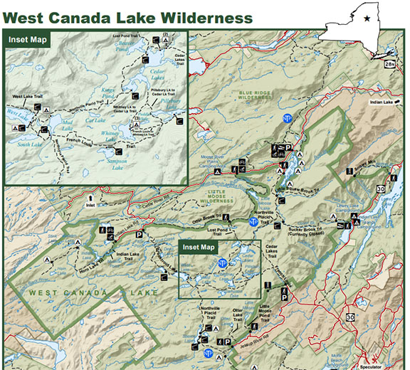 West Canada Lake Wilderness Map Three Hidden Gems to Explore in the Adirondack Park this Winter